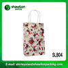 SLB04 new printing logo christmas gift bag paper,famous brand paper bag,craft paper bag handle