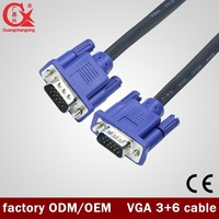 High Definition 1080P Support 5m Specification VGA to VGA Cable