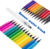 Set of 20 Color Soft Flexible Real Brush Tip Water Marker+1 water pen watercolour pen set