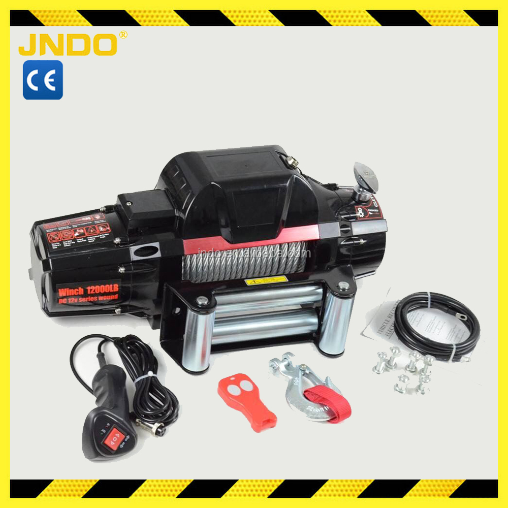 Offroad 12000lb 4wd IP68 electric winch looks like WARN winch