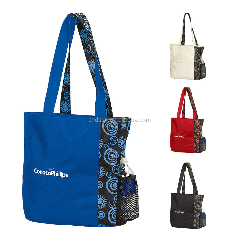 Polyester POP CONVENTION TOTE Bags