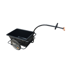 plastic tray steel frame Bicycle Cargo Trailer Shopping Utility Trailer