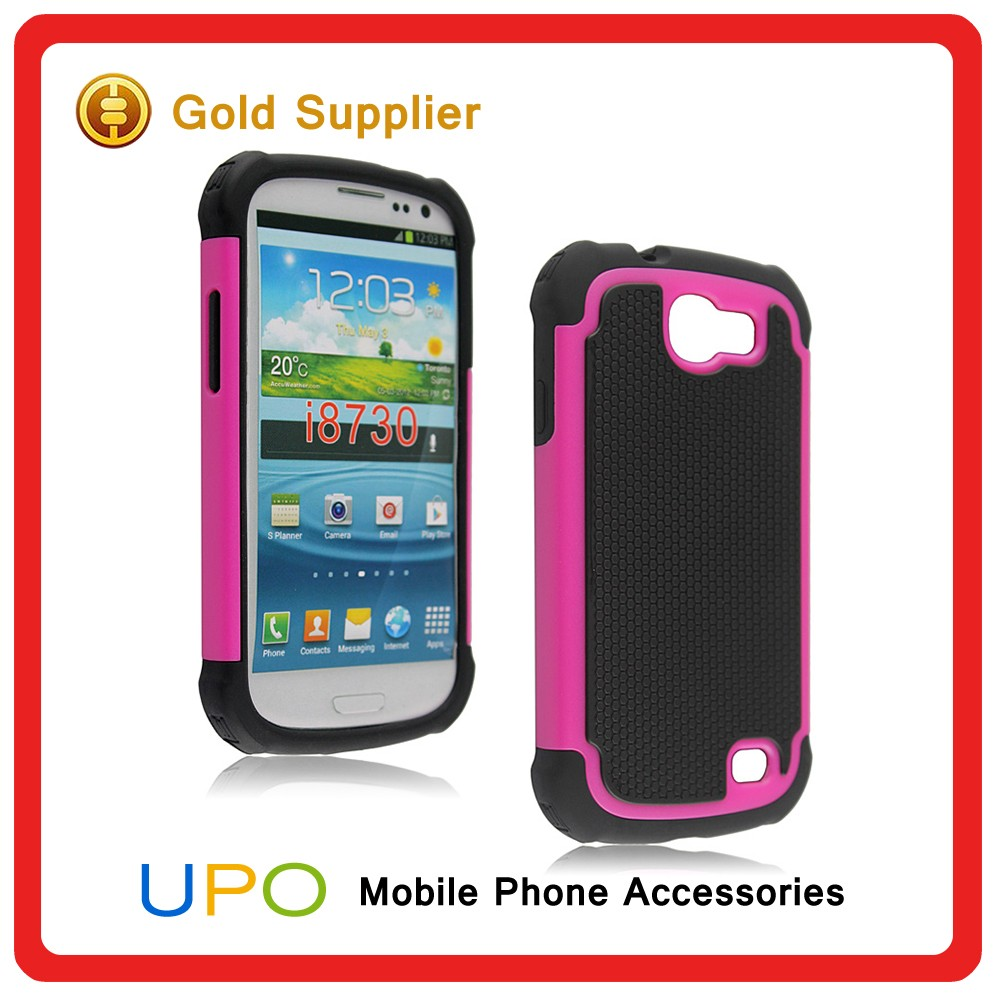[UPO] Wholesale Custom 2 in 1 Combo Hard Plastic Silicon Phone Case for Samsung Galaxy Express i8730