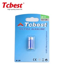 High quality factory price 1.5V LR1 N size alkaline battery