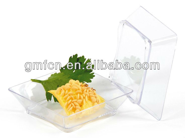 UAE USA Europe Japan Hot selling plastic disposable party catering tableware clear disposable plastic dessert cup