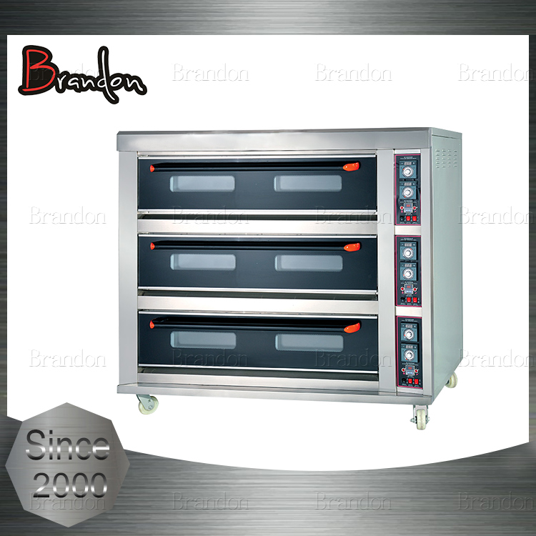 Brandon large capacity 24kw electric pizza baking oven