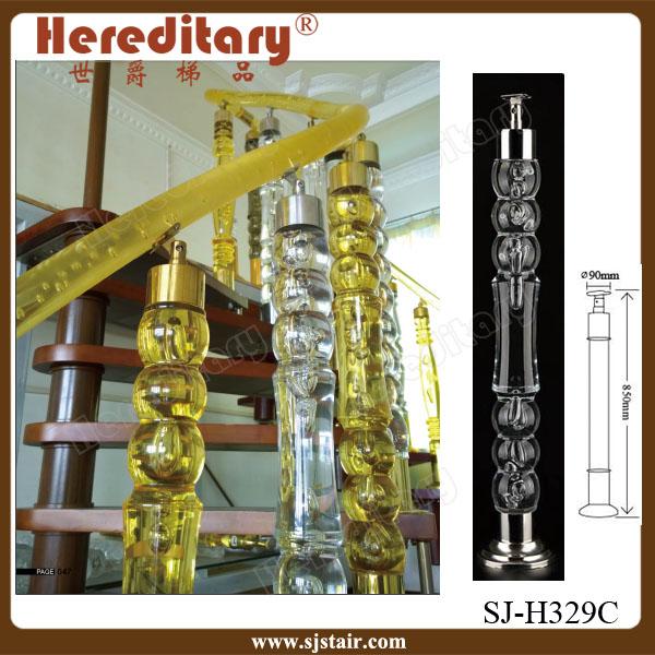 Decorative Acrylic Interior Stair Railings With Acrylic Ball, View  Decorative Acrylic Stair Railing, Hereditary Product Details From Foshan  Hereditary ...