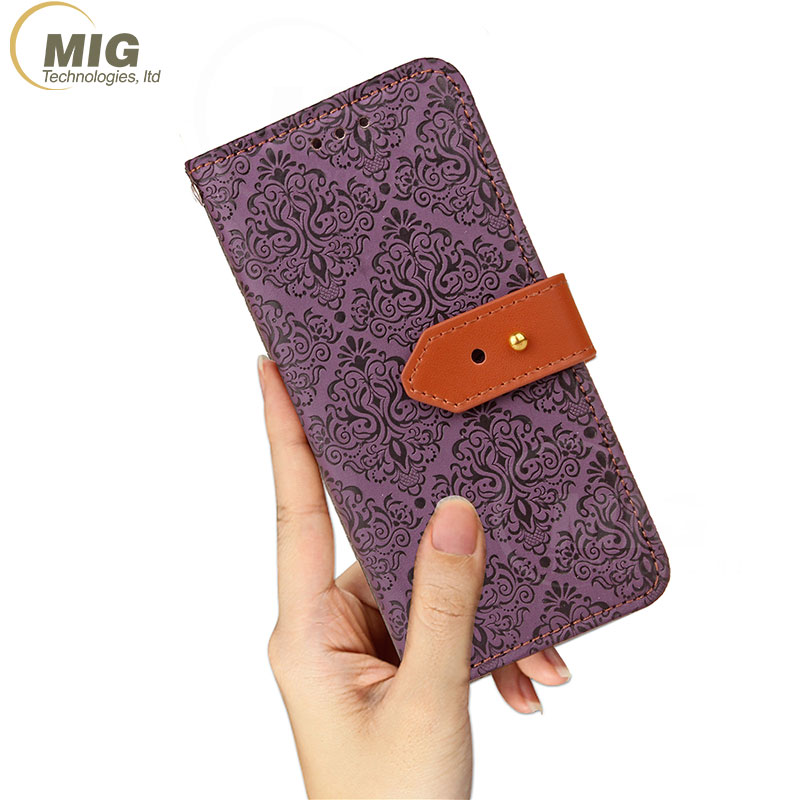 Hot design mobile phone case wallet leather stand holder cover case for iPhone 7 7plus 8