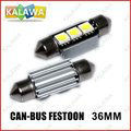1PC 36mm LED CANBUS Festoon light 3 LED dome led Reading Light Car Auto Interior Bulb ~GGG