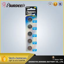 China factory directly button cell battery cr2016