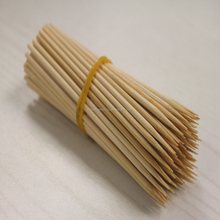 Cheap wholesale bamboo stick/round bamboo stick with custom logo