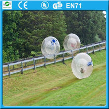 Big Discount inflatable soccer balls, snow zorbing ball, zorb ball in germany