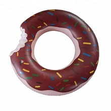 Hot Sale Doughnuts Inflatable Pool Floating Swim Ring