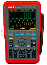Digital Handheld Storage Oscilloscope, 200MHz Bandwidth, Dual Channel, 1GS/s Sample Rate, USB Communication, UTD1202C