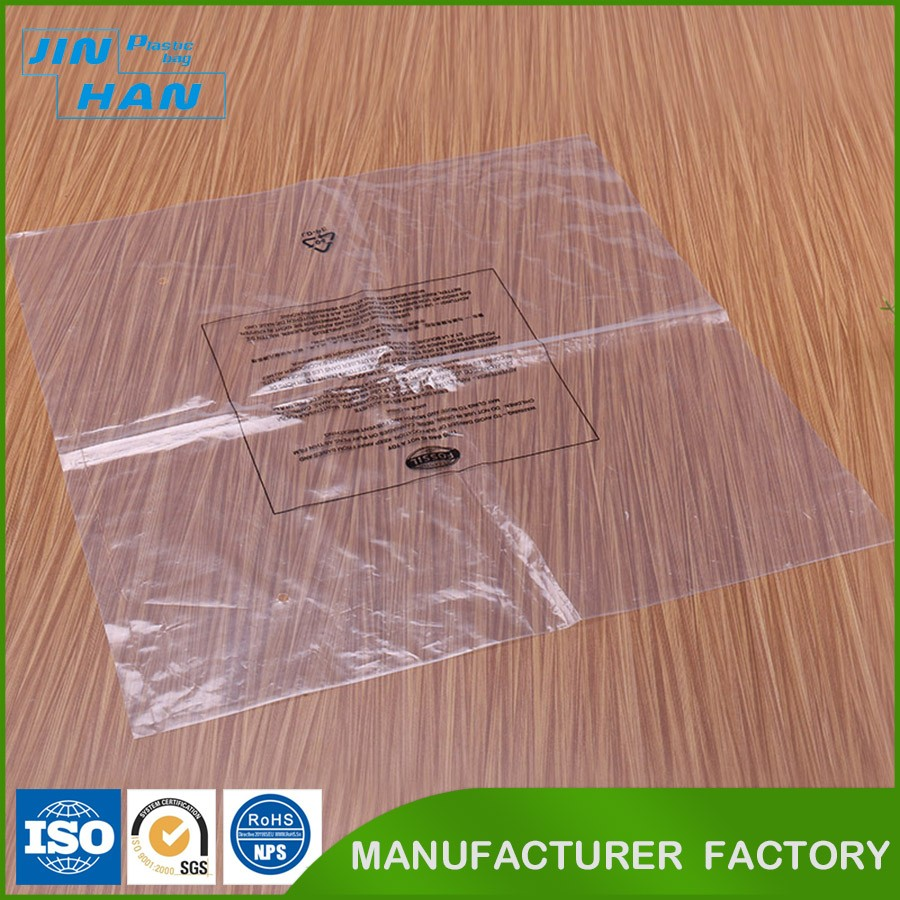 Custom Printed Recyclable Clear Plastic Heat Seal Packaging Bag
