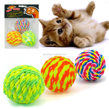 Factory Price Colorful Cotton Play Pet Sex Toys For Cat