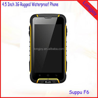 OEM 4.5 Inch IP68 Waterproof Rugged Smartphone 1GB RAM 8GB ROM Quad Core Dual SIM Android 4.2 3G Waterproof Phone