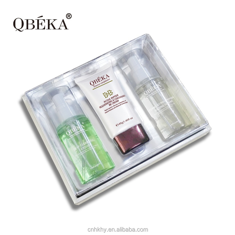Professional skin care formula QBEKA ferment polypeptide fading serum set effective skin care set anti-aging skin care