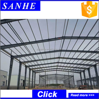 prefabricated Modern Steel Frame Canopy Carport steel structure building