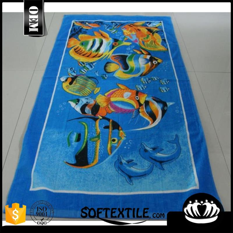 Hot sale Super soft 100% cotton beach towel