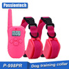 P-998PR Waterproof Rechargeable LCD Shock Control Pet Dog Training Collar with 100 Level Vibration + 100 Level Static Shock