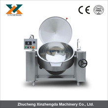2017 NEW!!! High efficiency steam/electrical tiltable jacket Kettle with mixer