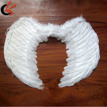 size 50*30cm white angel wing for party