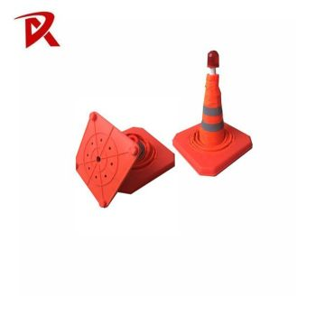 "Traffic safety 70cm 28"" collapsible traffic cone"