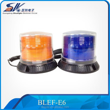 12V 24V amber blue led rotating beacon light