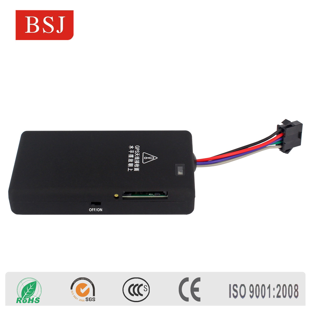 BSJ-K11 Vehicle GPS Tracker remotely open/close car door for Bus Truck Car with shut off engine remotely