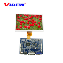 7 inch small vga touch screen lcd monitor with hdmi input