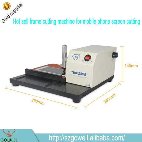 New product TBK 918 LCD middle Frame Screen Cutting machine for iPhone for Samsung Glass frame bezel Remove separating Repair