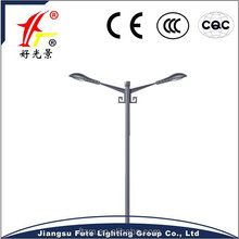 metal poles for the street lighting