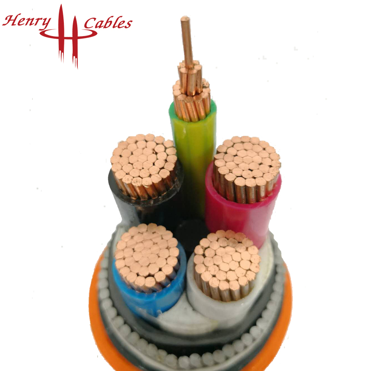Low voltage VDE certificate XLPE insulated power cable for industry
