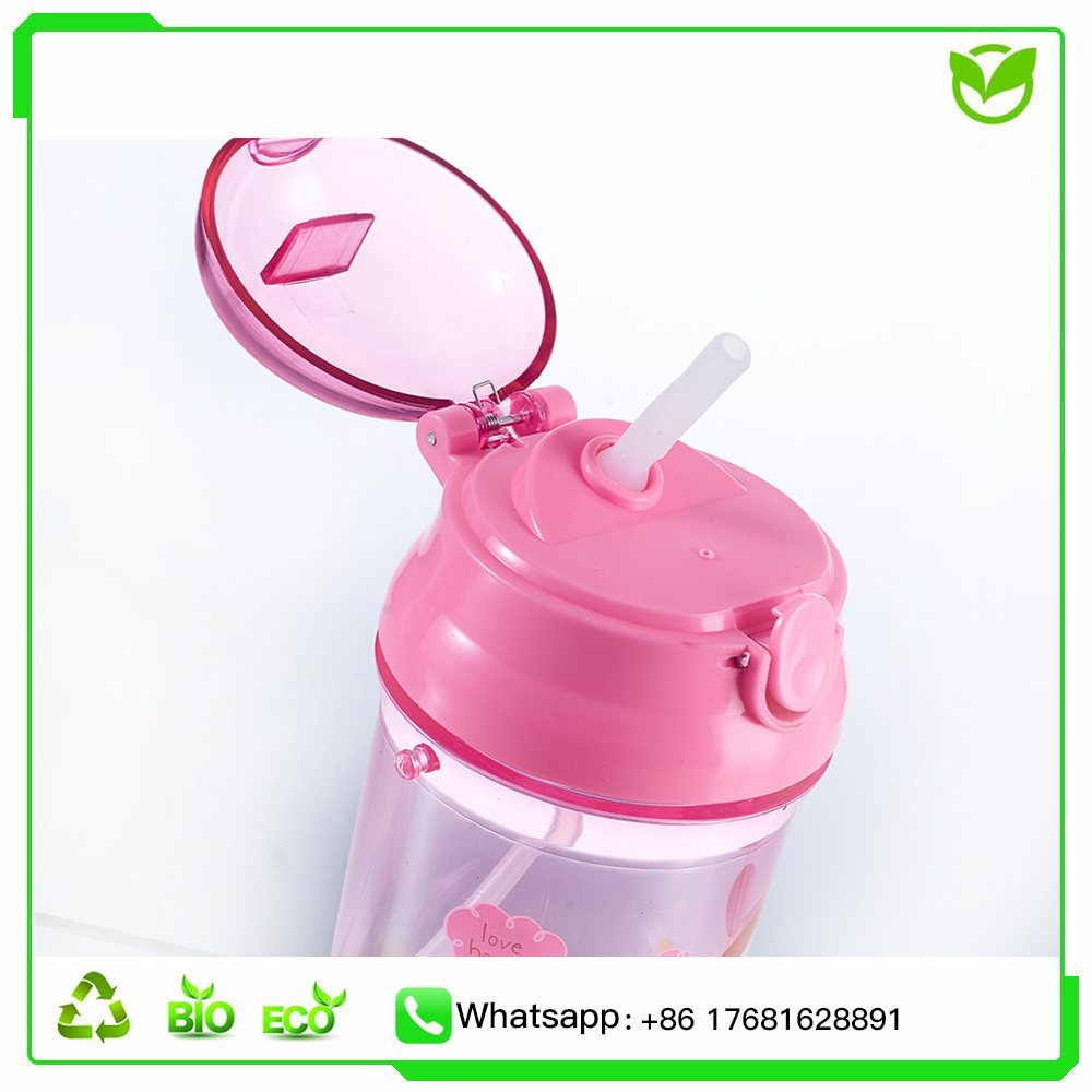 Irregular Plastic Water Drinking Bottle Triangle Sports Bottle With Hand