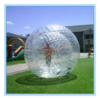 Fwulong hot sale plastic hamster ball kids body zorb/ body bumper ball