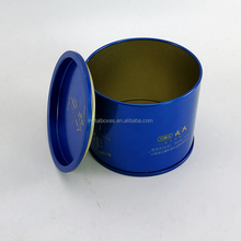 New Small Metal Round Tin Can Container Candle Tin Tea Tin Box