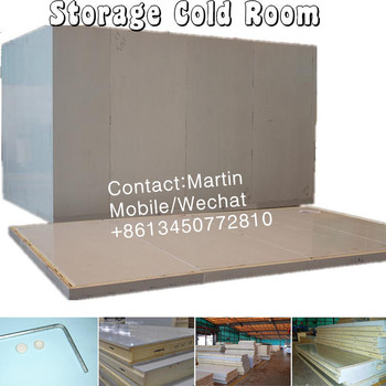 Storage Cold Room installed by PU/PIR insulation panel