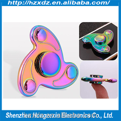 Cheap Metal Colour Fingertips Gyro top selling hand spinner toy
