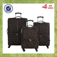 Brown Color Steel Trolley Universal Wheels Laptop Bag Alibaba China WholesaleTrolley Bag