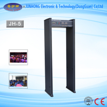 Bank security checking use easy operation cheap walkthrough metal detector with Body Temperature Detection