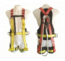 YuanRui YR-QS034 High Tenacity Polyester belt for roofing workers or contractors full Body Fall Protection <strong>safety</strong> harness