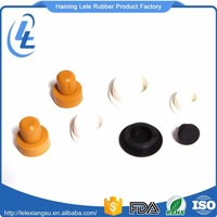OEM round valve cap dust proof airtight protective auto rubber cover