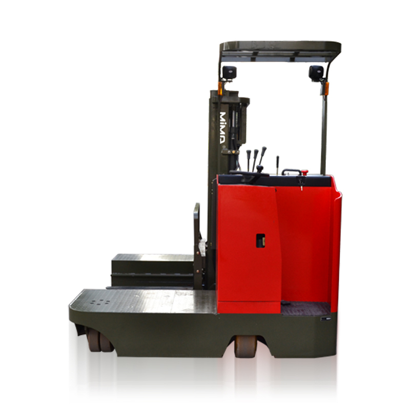 electric forklift with side slide battery used to handle long material with CE certificate