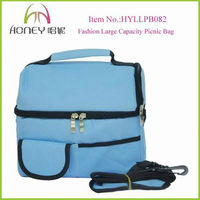 2014 Fashion Large Capacity Shoulder Ice Bag Waterproof Travel Ice Bag