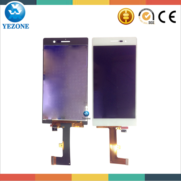 Cellphone LCD Digitizer Replacement For HUAWEI Ascend P7, For Huawei P7 LCD Touch Screen Digitizer Panel Glass Repair Parts