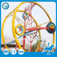Great fun super attractions amusement item Ferris Ring Car for sale