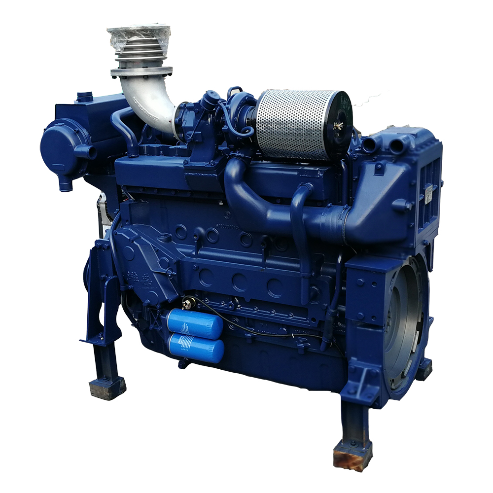 Sea water cooled marine diesel generator 15kw with wet exhaust