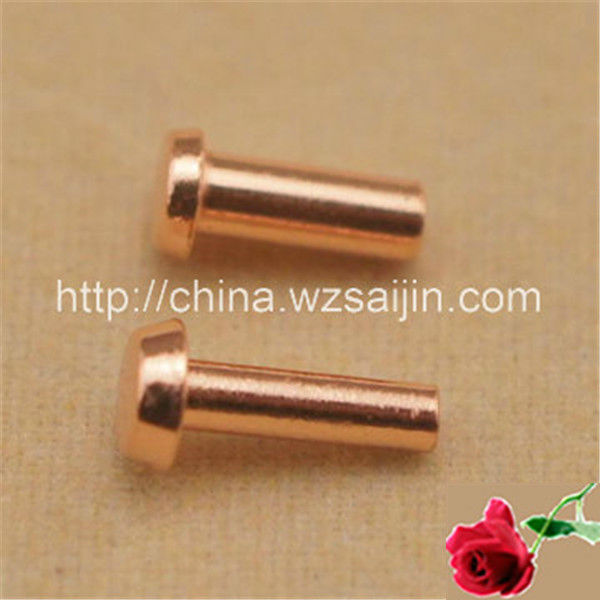 Flat Head Hollow Copper Tube Rivet