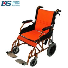 cerebral palsy children 12 inch soft wheel chair by hand control